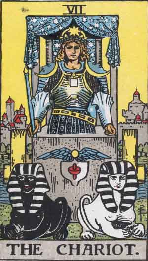 Rider-Waite tarot - The Chariot