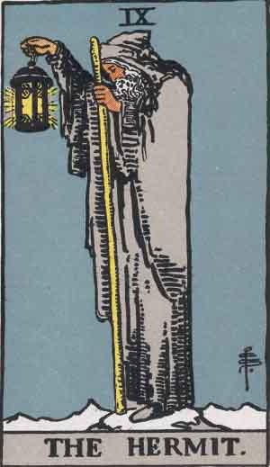 Rider-Waite - The Hermit