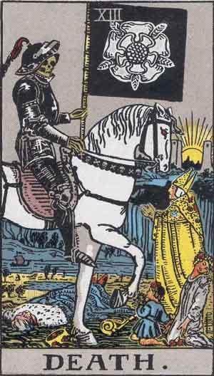 Rider-Waite - Death
