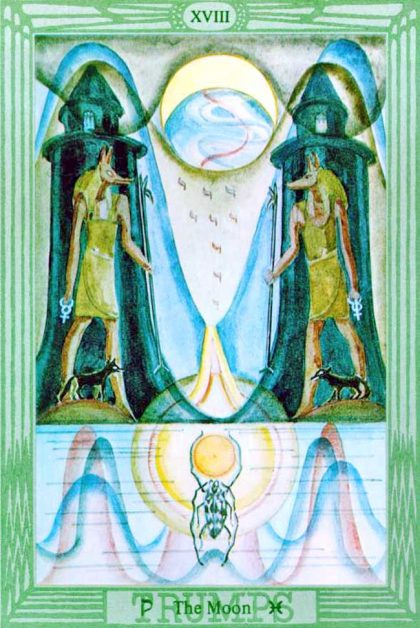 Thoth Tarot - Moon