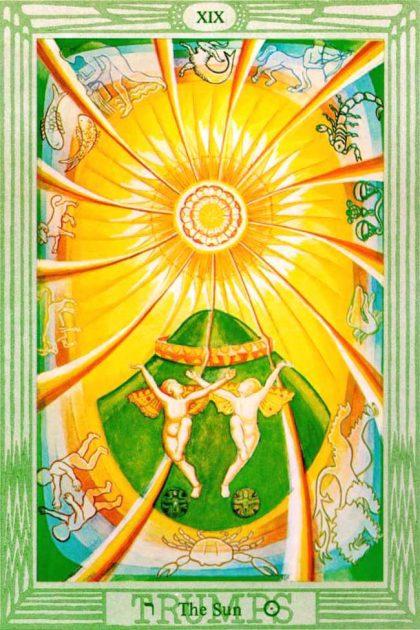 Thoth Tarot - Sun