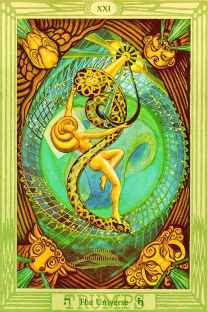 Thoth Tarot - Universe