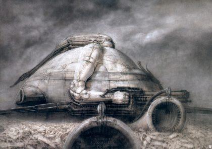 Dune - Le palais Harkonnen par H.R. Giger