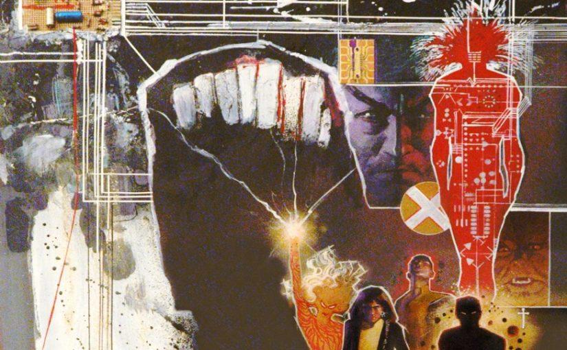 Bill Siekiewicz, poster représentant les nouveaux mutants