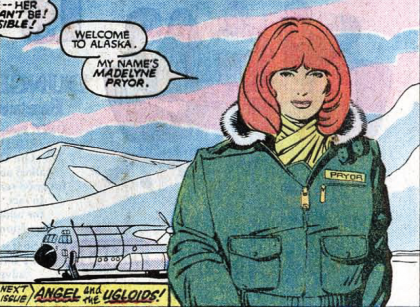 MAdelyne Pryor by PAul Smith