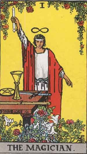 Rider-Waite tarot - The Magician