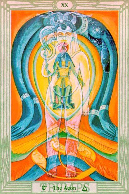 Thoth Tarot - Aeon