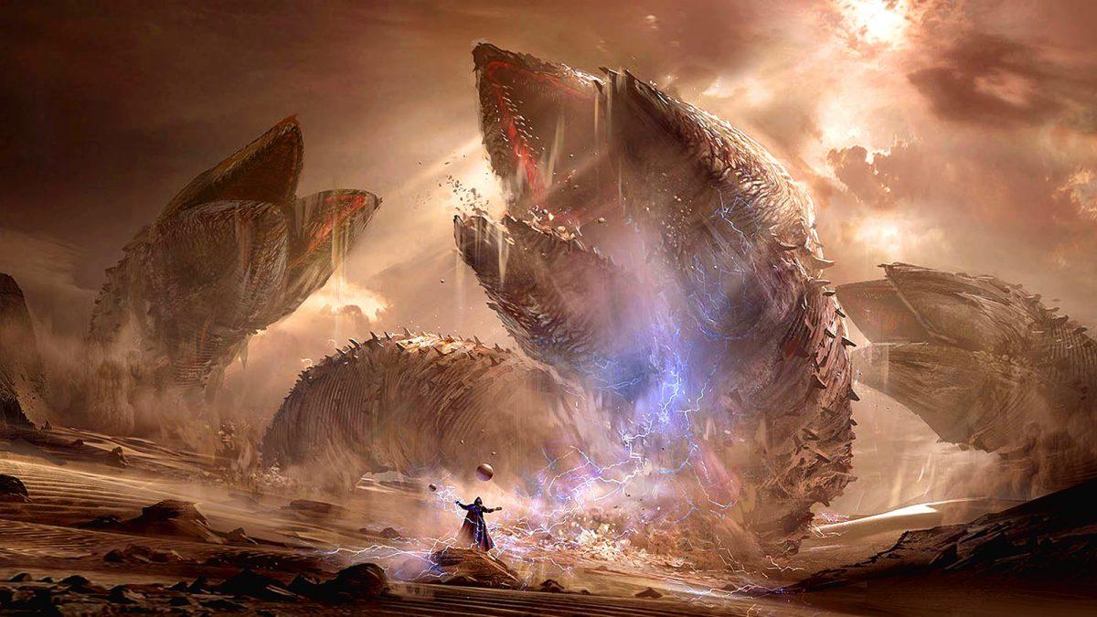 Dune - Art conceptuel par Eduardo Peña