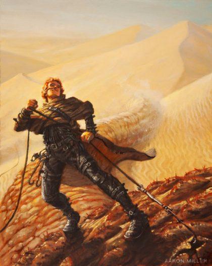 Dune - Art conceptuel par Aaron Miller