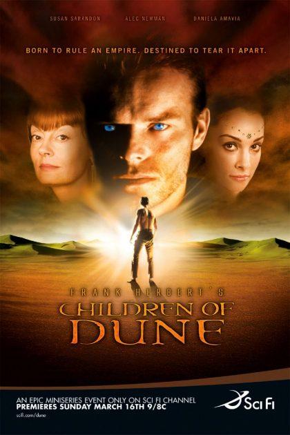 Childern of Dune - Affiche de la mini série de Sci Fi
