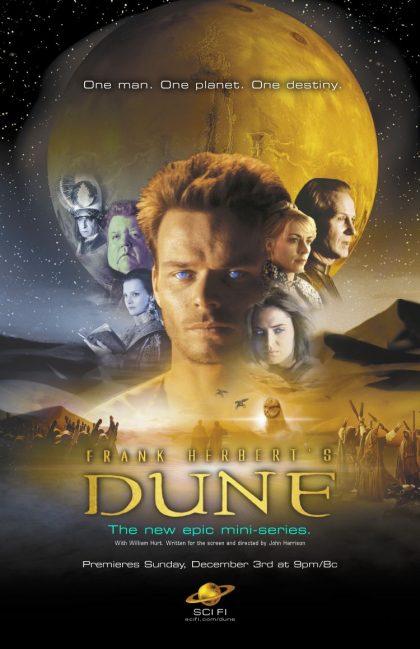 Duna - Affiche de la mini série de Sci Fi